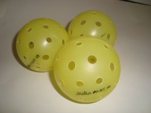 NEW 3 Dura Outdoor Pickleball Balls DuraFast 40