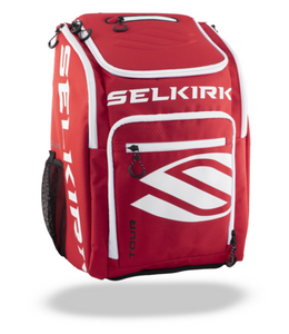 Selkirk 2021 Tour Backpack Red Pickleball Backpack Paddle Case
