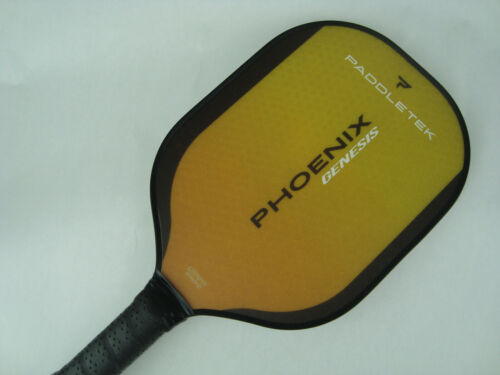 Paddletek Phoenix Genesis Pickleball Paddle Dave Weinbach Horizon Yellow