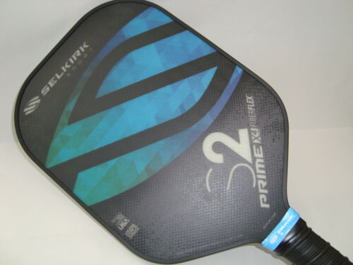 Selkirk Prime X4 S2 Pickleball Paddle Fiber Flex Ocean Blue
