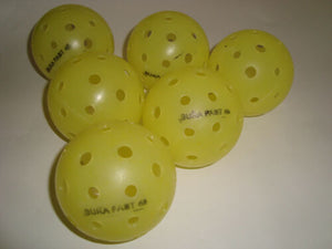 12 Dura Outdoor Pickleball Balls Pickleball, Inc. (DuraFast 40) Yellow 12-Pack