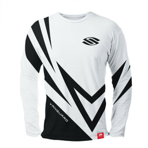 Selkirk Vanguard Men's Long Sleeve Stretch-Wik Crew T-Shirt L White