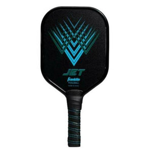 Franklin Sports Jet Pickleball Paddle Dual Plated Aluminum Blue