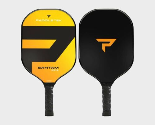 Paddletek Bantam EXL Pickleball Paddle Polymer Honeycomb Cor EX-L Horizon Yellow
