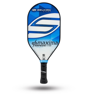 2020 Selkirk Amped X5 Maxima Pickleball Paddle Lightweight Fiber Flex Blue