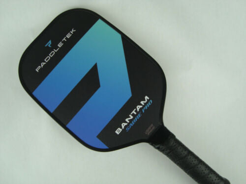 Paddletek Bantam Sabre Pro Pickleball Paddle Scott Moore EX-L Riptide Blue