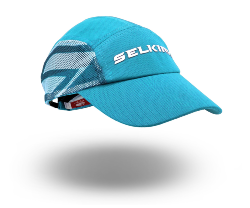 Selkirk Sport Amped Jockey Hat Adjustable Color Cyan Blue