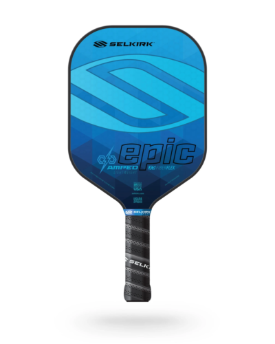 2021 Selkirk Amped X5 Epic Pickleball Paddle Lightweight Sapphire Blue