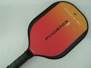 Paddletek Phoenix G6 Pickleball Paddle Kyle Yates Dave Weinbach Wildfire Red
