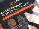 Onix Evoke Premier Pickleball Paddle Lucy Kovalova Matt Wright Designed Red