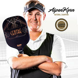 Aspen Kern Signature Centre Pickleball Paddle Franklin Sports Max Grit 16mm