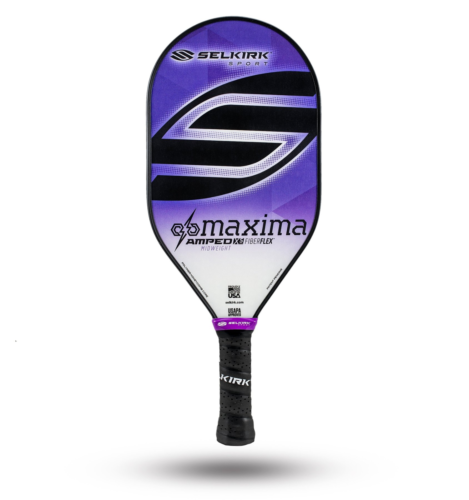 2020 Selkirk Amped X5 Maxima Pickleball Paddle Midweight Purple