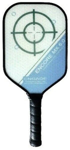 Engage Encore MX 6.0 Pickleball Paddle Thicker Core Brian Staub Lucore Blue