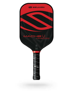 Selkirk Vanguard Hybrid Mach6 Pickleball Paddle Midweight Crimson Black