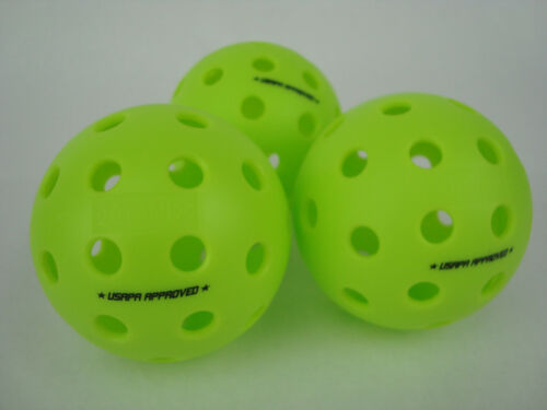 3 Onix Fuse G2 Outdoor Pickleball Balls Meets USAPA Pack of 3 Neon Green