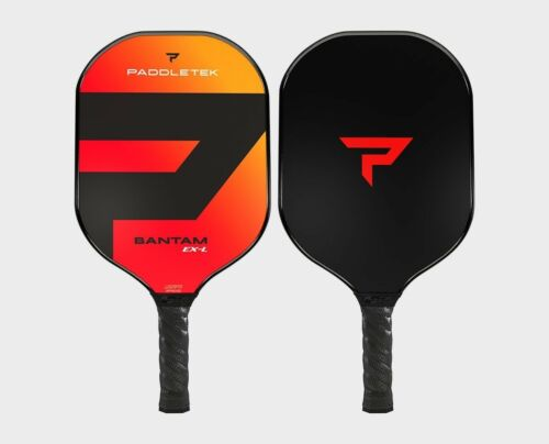 Paddletek Bantam EXL Pickleball Paddle Polymer Honeycomb Core EX-L Wildfire Red