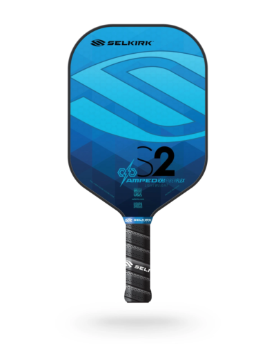 2021 Selkirk Amped X5 S2 Pickleball Paddle Lightweight Sapphire Blue