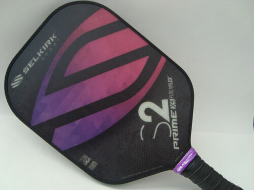 Selkirk Prime X4 S2 Pickleball Paddle Fiber Flex Twilight Purple
