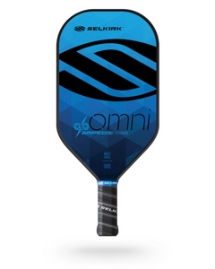2021 Selkirk Amped X5 Omni Pickleball Paddle Midweight Sapphire Blue