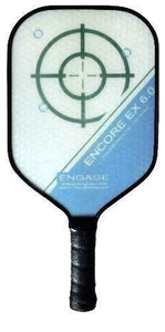 Engage Encore EX 6.0 Pickleball Paddle Thicker Core Brian Staub Lucore Blue