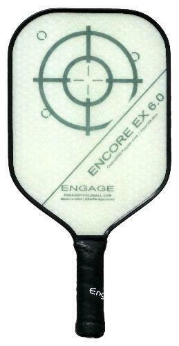 Engage Encore EX 6.0 Pickleball Paddle Thicker Core Brian Staub Lucore Tradition