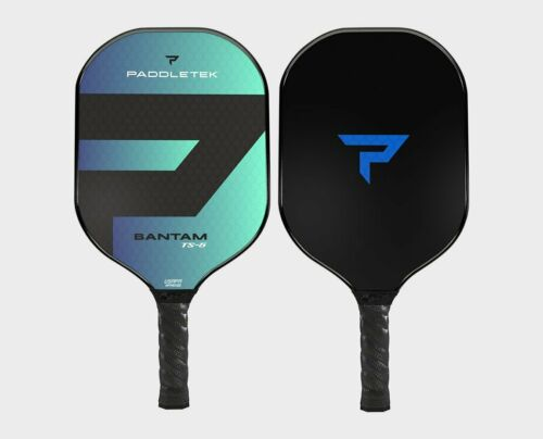 Paddletek Bantam TS5 Pickleball Paddle Polymer Honeycomb Core Riptide Blue