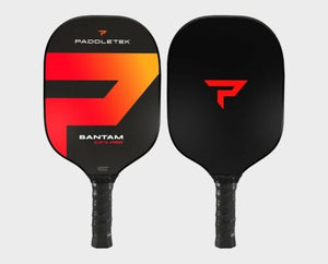 Paddletek Bantam EXL PRO Pickleball Paddle SRT Poly Core EX-L Wildfire Red