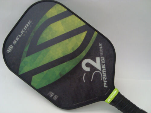 Selkirk Prime X4 S2 Pickleball Paddle Fiber Flex Fields of Green