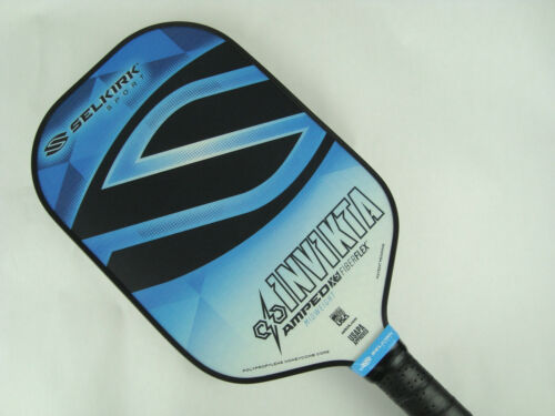 2020 Selkirk Amped X5 Invikta Pickleball Paddle Midweight Tyson McGuffin Blue