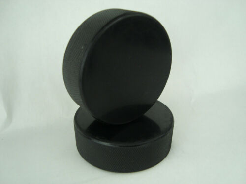 Hockey Pucks Bulk - 2 Hockey Pucks per Case - Official 6 oz. - New