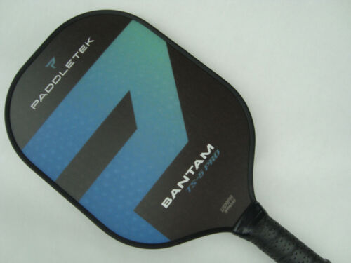 Paddletek Bantam TS5 PRO Pickleball Paddle SRT Polymer Core Riptide Blue