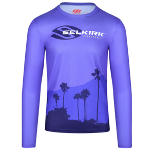Selkirk California Limited Edition Men's Long Sleeve T-Shirt L Court Purple