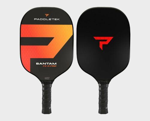 Paddletek Bantam TS5 PRO Pickleball Paddle SRT Polymer Core Wildfire Red