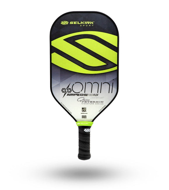 Selkirk Amped X5 Omni Glen Peterson Signature Pickleball Paddle Lightweight