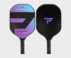 Paddletek Bantam EXL Pickleball Paddle Polymer Honeycom Core EX-L Aurora Purple