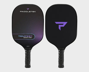 Paddletek Tempest Wave Pro Pickleball Paddle Graphite Dave Weinbach AuroraPurple