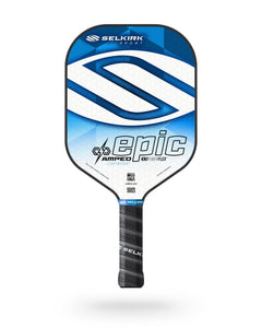 2020 Selkirk Amped X5 Epic Pickleball Paddle Lightweight Fiber Flex Tech Blue