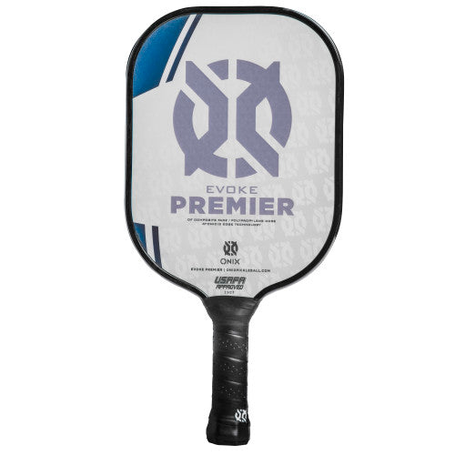 Onix Evoke Premier Pickleball Paddle Lucy Kovalova Matt Wright Heavy Weight Blue