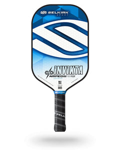 2020 Selkirk Amped X5 Invikta Pickleball Paddle Lightweight Tyson McGuffin Blue