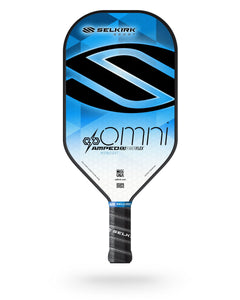 2020 Selkirk Amped X5 Omni Pickleball Paddle Midweight Fiber Flex Blue
