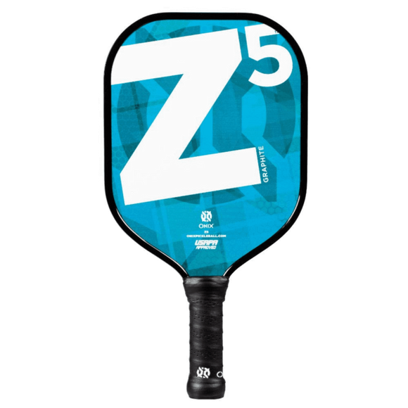 Onix Z5 Graphite Modern Pickleball Paddle Lucy Kovalova Matt Wright Blue