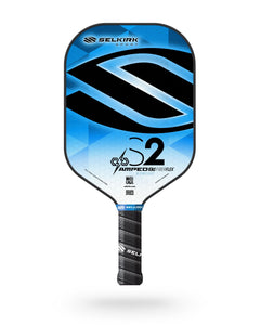 2020 Selkirk Amped X5 S2 Pickleball Paddle Midweight Fiber Flex Sapphire Blue