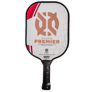 Onix Evoke Premier Pickleball Paddle Lucy Kovalova Matt Wright Heavy Weight Red