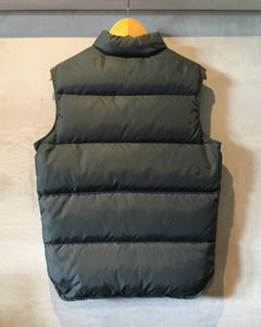80's Woolrich-Down vest-(size S)Made in U.S.A.