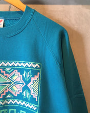 画像をギャラリービューアに読み込む, JERZEES-Native print sweat-(size M38-40)Made in U.S.A.