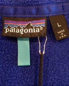 Patagonia-Fleece vest-(size L)Made in U.S.A.