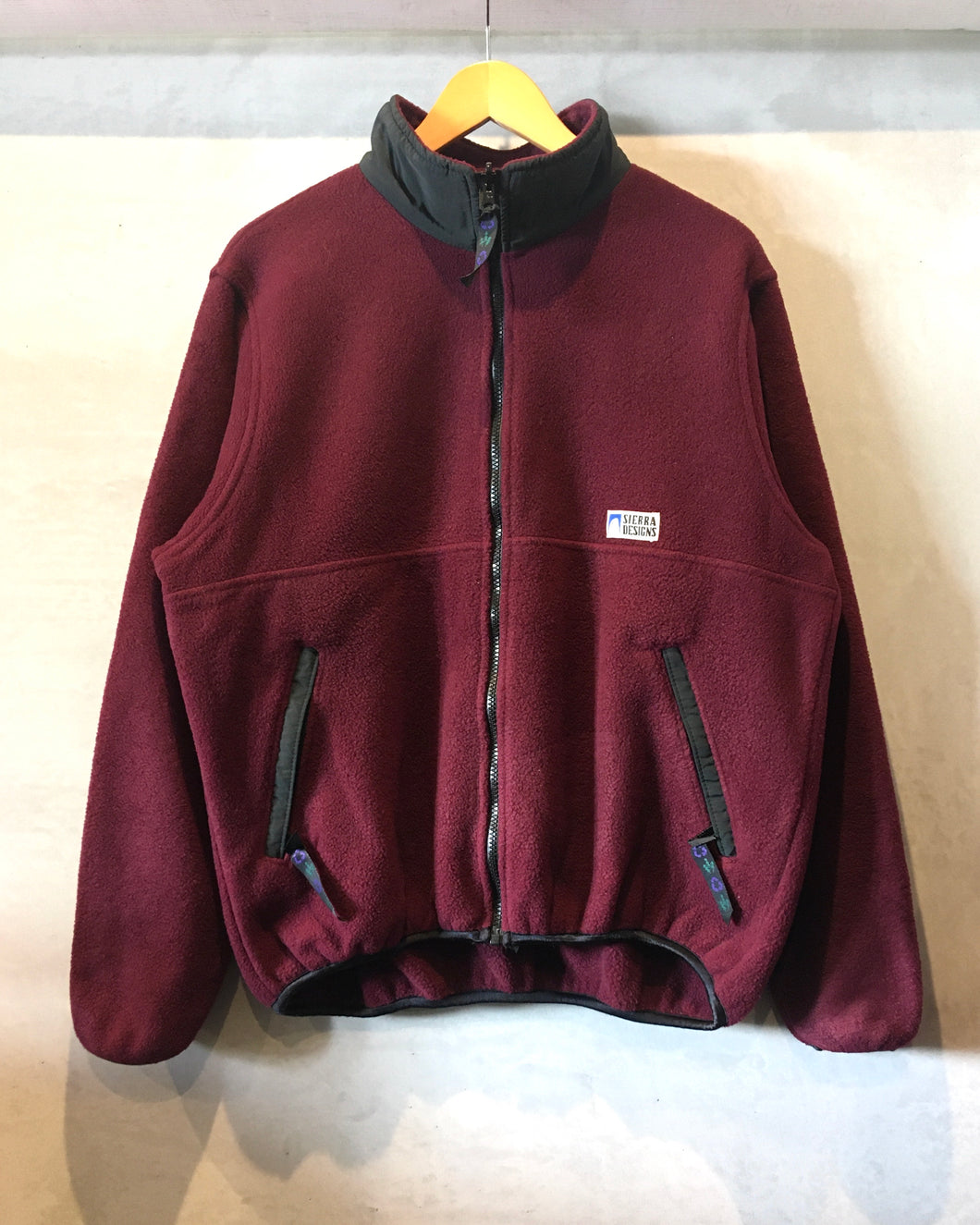 90's SIERRA DESIGNS-Fleece jacket-Made in CANADA