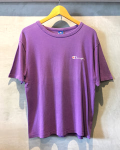 Champion-Cotton T-shirt-(size M) Made in U.S.A.