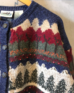 NORTHERN REFLECTIONS-Cardigan-(size XL)
