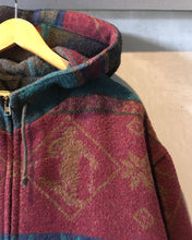 画像をギャラリービューアに読み込む, L.L.Bean-Nordic pattern coat-(size XL)Made in PORTUGAL